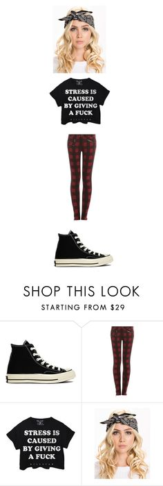 """Rooftop Jumping with Raph"" by maryvarleyrox ❤ liked on Polyvore featuring Converse, rag & bone and Killstar"