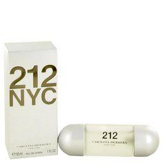 212 Eau De Toilette Spray (New Packaging) By Carolina Herrera