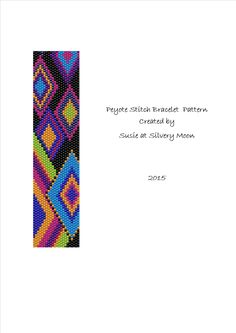 Peyote Stitch Even Count Beading Pattern by SusieatSilveryMoon