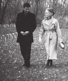 Ryan Buell and Lorraine Warren. Paranormal geekery at its finest.