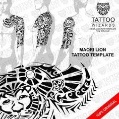 Maori Lion Tattoo