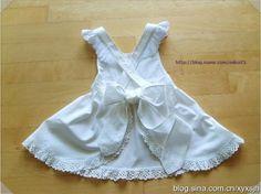 Girls apron tutorial