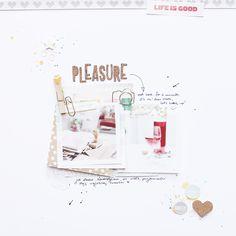 magda mizera: pure pleasure - layout