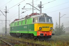 Pafawag Electric locomotive from 201E series in Poland