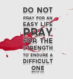 pray hard it works