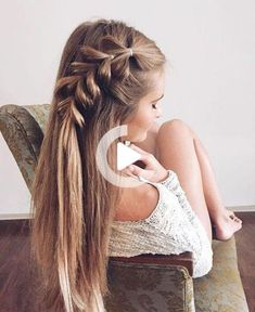 The best braids for long hair Boss Babes The best braids for long hair . - The best braids for long hair boss babes The best braids for long hair boss babes, - Cool Braid Hairstyles, Summer Hairstyles, Girl Hairstyles, Gorgeous Hairstyles, Hairstyle Ideas, Hair Updo, Hairstyle Braid, Hairstyles Pictures, Christmas Hairstyles