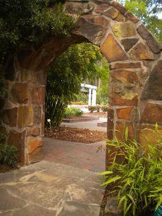Mercer Botanical Gardens. Houston, Texas