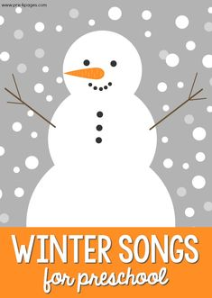 Winter Songs for Preschoolers - Pre-K Pages