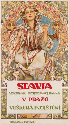 Art by Alphonse Mucha. (1860-1939)