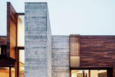 68 Ideas For Concrete Wood Architecture Facade Modern Houses Concrete Architecture, Contemporary Architecture, Architecture Design, Best Architects, Modern Architects, Modern Buildings, Beautiful Buildings, Modern Houses, Wood Facade