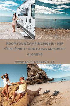 8 Tage hat er uns auf unserem Abenteuer durch Portugal begleitet. In diesem Video zeigen wir euch eine kleine Roomtour unseres Campingmobils. Algarve, Mobiles, Camping, Free Spirit, Videos, Portugal, Youtube, Adventure, Campsite