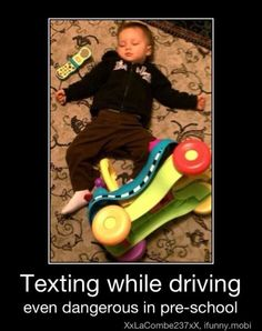 Texting and driving takes hundreds of lives every day