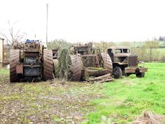 Archived Report - Dredging engine from Welford on AvonDecember 2012 Antique Tractors, Vintage Tractors, Steam Tractor, Steamers, Steam Engine, One Pic, Abandoned, Automobile, Monster Trucks