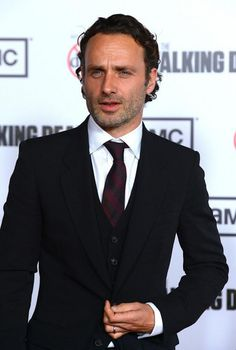 When he opens his mouth just slightly as if he is surprised. | 56 Situations Where Andrew Lincoln Looks Absolutely Charming