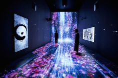 Immersive Interactive Installation in an Art Gallery in London – Fubiz Media
