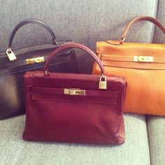 My 3 Kelly bags all together #theblondesalad #chiaraferragni - @chiaraferragni- #webstagram