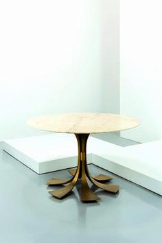 LUXURY CENTER TABLE | Luciano Frigerio; Marble and Bronze Center Table, 1970s. | www.bocadolobo.com/ #luxuryfurniture #designfurniture