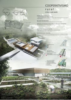 10 New Landscape Architecture Concept Drawing Ideas Presentation Board Design, Architecture Presentation Board, Project Presentation, Architecture Board, Concept Architecture, Amazing Architecture, Architectural Presentation, Architecture Portfolio Layout, Architectural Models