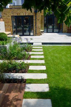 Urban Garden Design, Contemporary Garden Design, Back Garden Design, Garden Design Plans, Backyard Garden Design, Backyard Landscaping, Landscape Design, Contemporary Landscape, Back Gardens