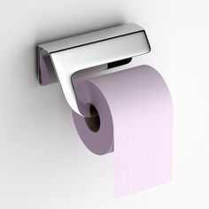 The straightforward design of the Componendo Tuy Toilet Paper Holder maintains an elegance that mounts securely to the wall, and makes changing the roll quick.