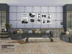 Sims 4 CC's - The Best: Living Room by Wondymoon
