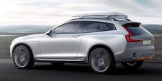 Se stort bildspel med nya Volvo Concept XC Coupé | På Väg