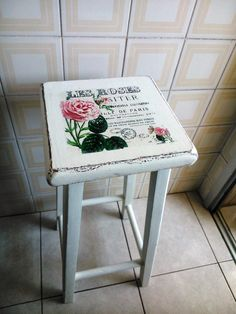 transf Decoupage, Furniture Making, Diy Furniture, Wood And Metal, Painting On Wood, Chalk Paint, Handicraft, Decorative Items, Painted Furniture