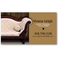 Interior designer home stager pack of standard business cards interior designer home stager business card templates from httpzazzle accmission Images