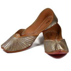 Handmade Shoes - Golden Warrior