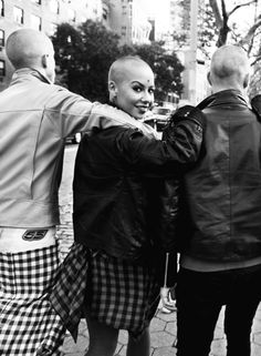 Skinhead girl (dear Americans - just so you know, skinheads doesn't mean racists in the UK! :) ) …> I'd say the same to Finnish as well. If you're a Finnish skinhead and anti-racist, I'd like to get to know. :) People should be more aware of this culture & it's real roots