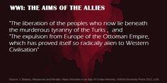 World War One: The war aims of the Allies