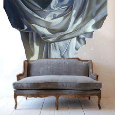 Diana Watson Wallpaper drape