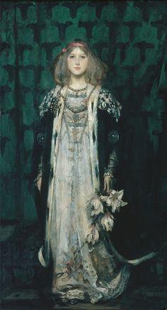 James SHANNON Portrait of Magnolia 1899