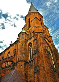 Aarhus, Denmark - 12th Century Domkirke Church