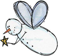 Fairy Snowman