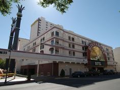 In 2004: The Riverboat Hotel at the corner of Second