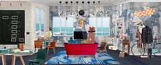 'Workplace #pop #Eclectic #workspace #room' created in #neybers