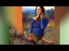 Paintings & Music  ( Bryce Liston - Armik )