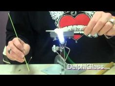 How to Decorate a Bead with Stringer | Delphi Glass - Video
