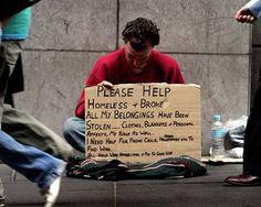 I am Homeless Help me - SilverAlms