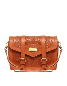 River Island | River Island Tooled Satchel at ASOS - StyleSays