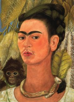 Self-Portrait with Monkey (Autorretrato con mono in Spanish) is an oil on masonite painting by Mexican artist Frida Kahlo, commissioned in 1938 by A. Conger Goodyear, then president of the Museum of Modern Art in New York.