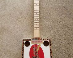 Items similar to La Aroma De Cuba- 5-string Cigar Box Guitar on Etsy