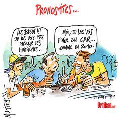 Coupe du Monde : Après Paul le Poulpe, François le Français ! - Dessin du jour - Urtikan.net