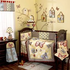 $129.99-$179.99 Baby Cocalo Sundae Six Piece Set - Cocalo Sundae Six Piece SetThe Sundae collection features a unique color combination and eclectic mix of pattern to bring a sophisticated touch to the nursery. Applique and detailed embroidery are brought to life in a distinctive color way of golden yellow, soft blue, scarlet red and accents of chocolate brown. Multiple floral prints and free-fo ...