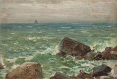 Franklin Brownell - Surf & Rocks