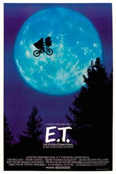 Cinema 1980 - 1989 » E.T. the Extraterrestrial :: Old Posters