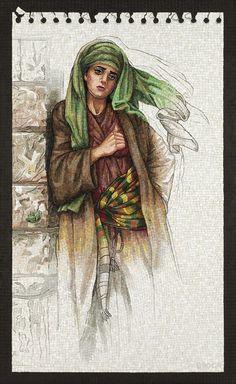 Judith Meeting Bethulia Elders by Lilian Broca Mosaic Art, Mosaic Glass, Glass Art, Byzantine, Proverbs, Journaling, Tiles, Sculptures, My Arts
