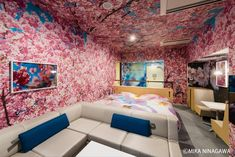 Featuring a minimalist design, Hotel Anteroom is set in a refurbished student hostel within walking distance of Kyoto's Kujo Station. It offers an art gallery, bar, breakfast room and a coin launderette. Neutral Colors, Colours, Hostel, Sofa Design, Minimalist Design, Kyoto, Couch, Simple Rooms, Art Rooms