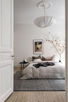 Room Ideas Bedroom, Home Decor Bedroom, Decor Room, Bedroom Bed, Bedroom Artwork, Couple Bedroom, Bedroom Modern, Wall Designs For Bedroom, Wall Decor